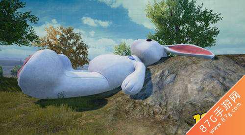 和平精英大兔子蹦床1